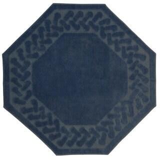Exceptional Herringbone Collection Octagon Rug (6u0027 ...
