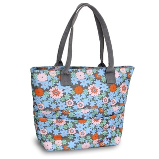 J World New York Blossom Print Lola Lunch Tote