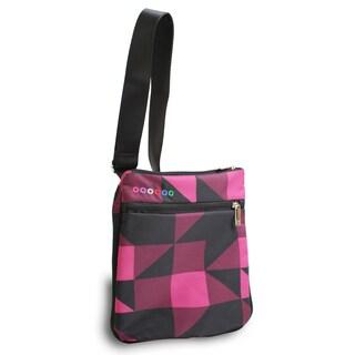 J World New York Block Pink Posh Tablet Crossbody Messenger Bag