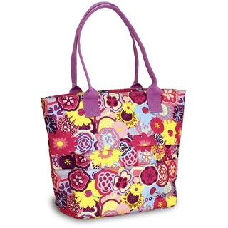J World New York Poppy Pansy Lola Lunch Tote