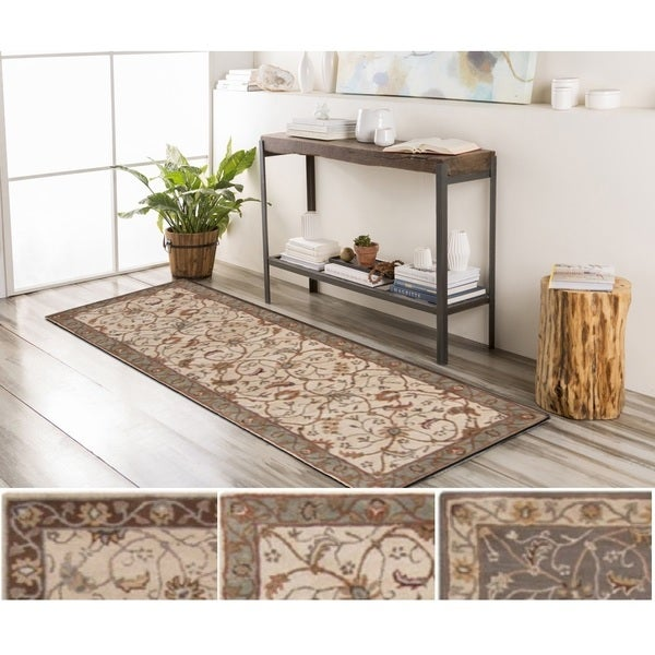 Hand-Tufted Toby Wool Area Rug (2'6 x 8')