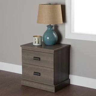 South Shore Gloria 2-Drawer Night Stand