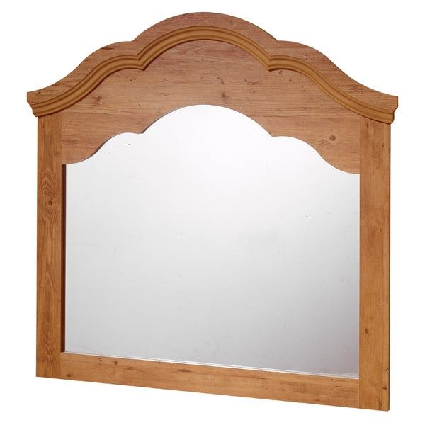 South Shore Prairie Country Pine Mirror - Country Pine