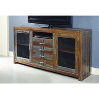 Christopher Knight Home Grayson Sheesham Four-drawer Two-door Media Console