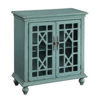 Christopher Knight Home Bayberry Blue Two-door Cabinet