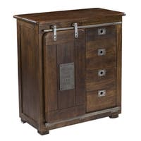 Christopher Knight Home Warm Brown Four-drawer One-door Cabinet
