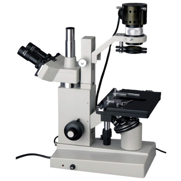 AmScope Inverted Trinocular Microscope 40X-640X