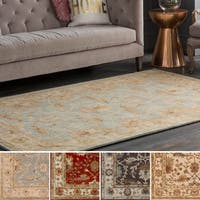 Hand-tufted Telford Floral Wool Area Rug - 4' x 6'
