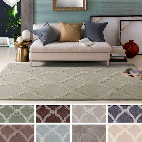 Silver Orchid Fontan Hand-Tufted Wool Rug