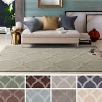 Silver Orchid Fontan Hand-Tufted Wool Rug - 9' x 13'