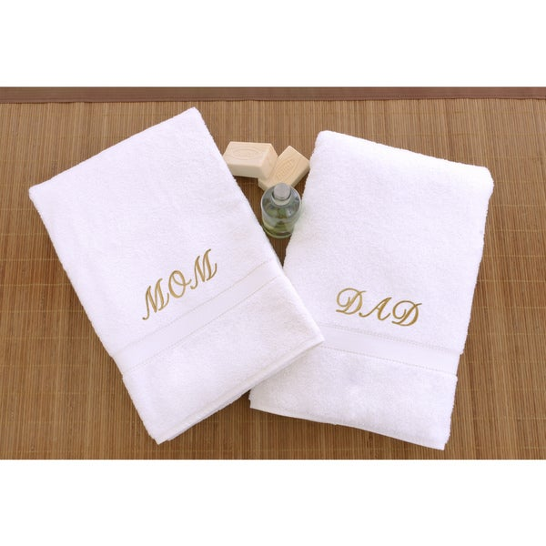 afc16ba553 Shop Authentic Hotel and Spa 2-piece  Mom and Dad  Monogrammed ...