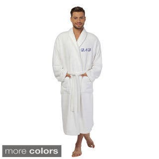Authentic Hotel and Spa 'Dad' Monogrammed Terry Cloth Turkish Cotton Bath Robe|https://ak1.ostkcdn.com/images/products/10092752/P17234458.jpg?impolicy=medium