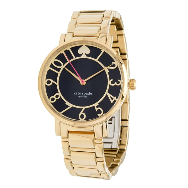 8298fae85 Shop Kate Spade 1YRU0430 Gold Tone Gramercy Watch - Free Shipping ...