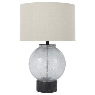 Signature Design by Ashley Shauni Transparent Glass Table Lamp