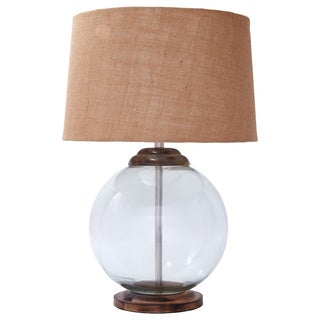 Signature Design by Ashley Shandel Transparent Glass Table Lamp