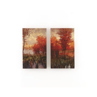 Signature Design by Ashley Andie Canvas Wall Art Set (Set of 2)