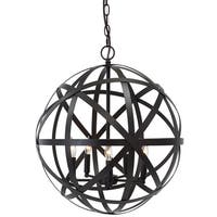 Signature Design by Ashley Cade Antique Bronze Metal 5-light Pendant
