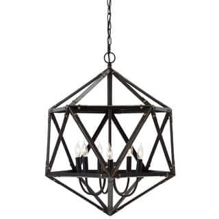 Signature Design by Ashley Fadri Bronze Metal 6-light Pendant|https://ak1.ostkcdn.com/images/products/10092819/P17234522.jpg?impolicy=medium