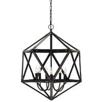 Fadri Bronze Metal 6-light Pendant