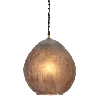 Signature Design by Ashley Fadey Brown Glass Pendant Light