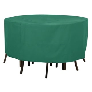 Classic Accessories Atrium Green Large Round Patio Table and Chair Cover