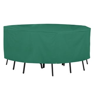 Classic Accessories Atrium Green X-large Rectangular Patio Table Cover