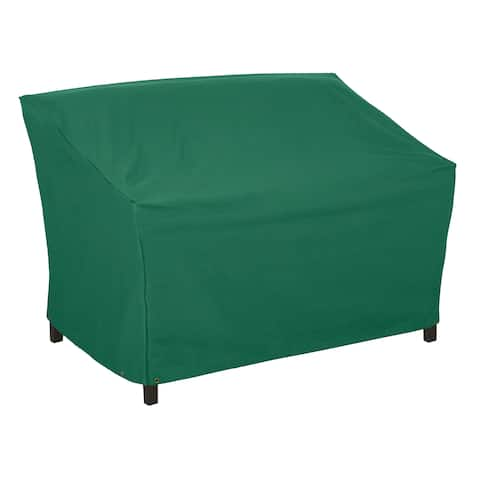 Classic Accessories Atrium Green Large Patio Bench Cover