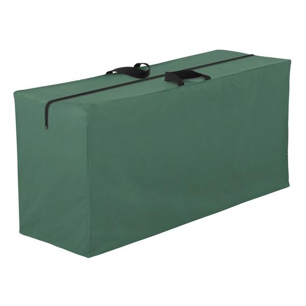 Classic Accessories Atrium Green Patio Cushions and