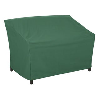 Classic Accessories Atrium 55-inch Green Patio Loveseat/ Sofa Cover