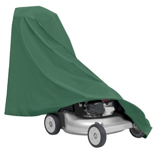 Classic Accessories Atrium Green Walk Behind Lawn Mower Cover
