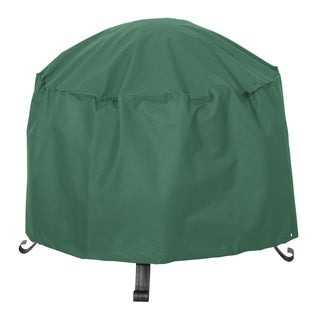 Classic Accessories Atrium Green 24-inch Round Patio Firepit Cover