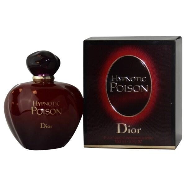 shop christian dior hypnotic poison women 39 s 5 ounce eau de toilette spray free shipping today. Black Bedroom Furniture Sets. Home Design Ideas