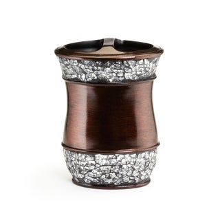 Elegant Oil Rubbed Bronze Cracked Glass Bath Accessory Collection (More options available)