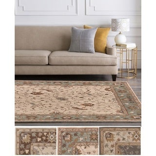 "Hand-Tufted Toby Wool Rug (9'9"" Square)"
