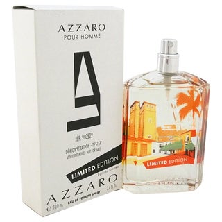 Azzaro Pour Homme Limited Edition 3.4-ounce Eau de Toilette Spray (Tester)