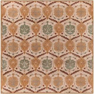 "Hand-Tufted Sofia Wool Rug (9'9"" Square)"