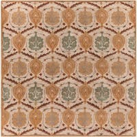 Hand-Tufted Sofia Wool Area Rug - 9'9 x 9'9