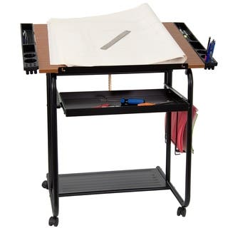 Flash Furniture 30 x 24 Rolling Drafting Table|https://ak1.ostkcdn.com/images/products/10094379/P17236005.jpg?impolicy=medium