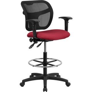 Burgundy drafting stool|https://ak1.ostkcdn.com/images/products/10094418/P17236009.jpg?impolicy=medium