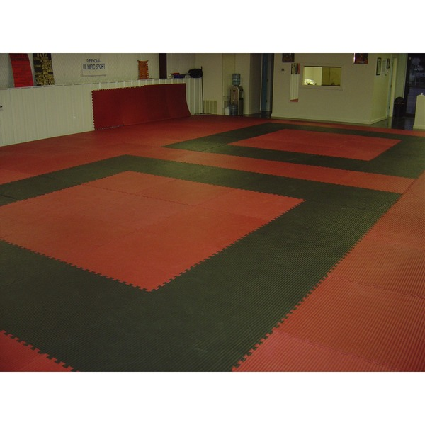 216 sq ft red interlocking foam floor puzzle tiles mats puzzle mat flooring
