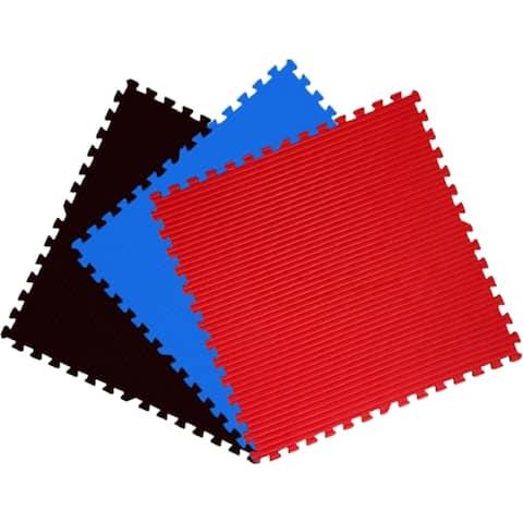 Get Rung 40-inch Martial Arts Interlocking Foam Puzzle Tiles Mats (Pack of 9)