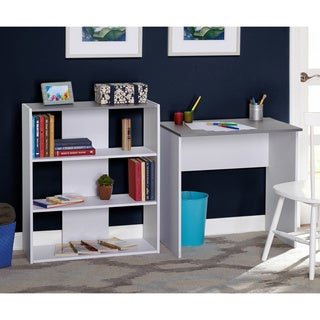 Simple Living Cassie Desk and Bookcase