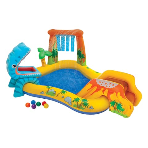 Intex Dinosaur Play Center - 98in X 75in X 43in