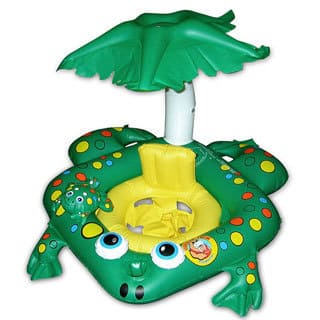 Poolmaster Learn To Swim Frog Seat with Top|https://ak1.ostkcdn.com/images/products/10094592/P17236160.jpg?impolicy=medium
