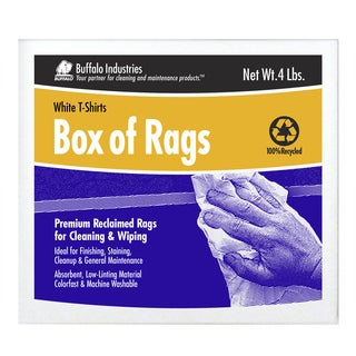 Buffalo Industries 10520 4# Box of Rags