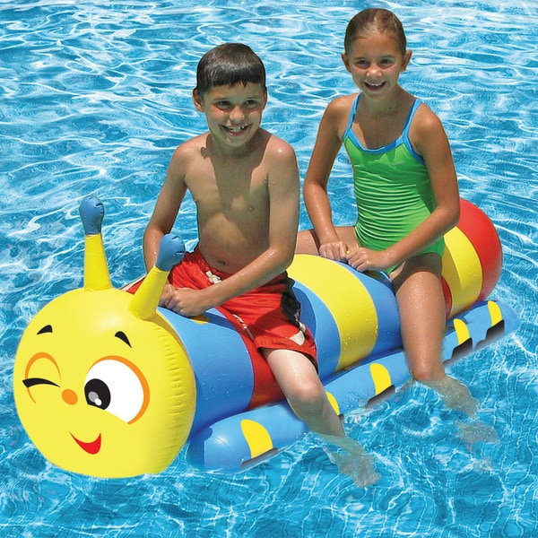 Poolmaster Caterpillar Super Jumbo Rider