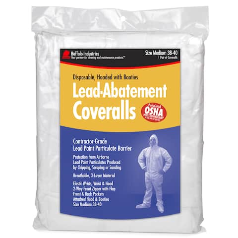 Buffalo Industries 68440 Lead-abatement Coveralls