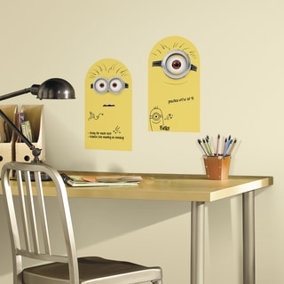 Roommates Minion Dry Erase Peel and Stick Wall Decal