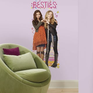 Roommates Girl Meets World Riley and Maya Peel and Stick Giant Wall Decal
