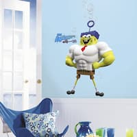 Roommates The Spongebob Movie Character Peel and Stick Giant Wall Decal